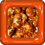 popcorn sinaasappel