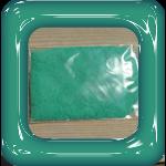 gekleurd zand groen