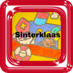 Zandtekening Sinterklaas