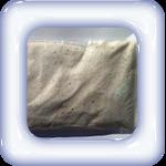 wit gekleurd zand